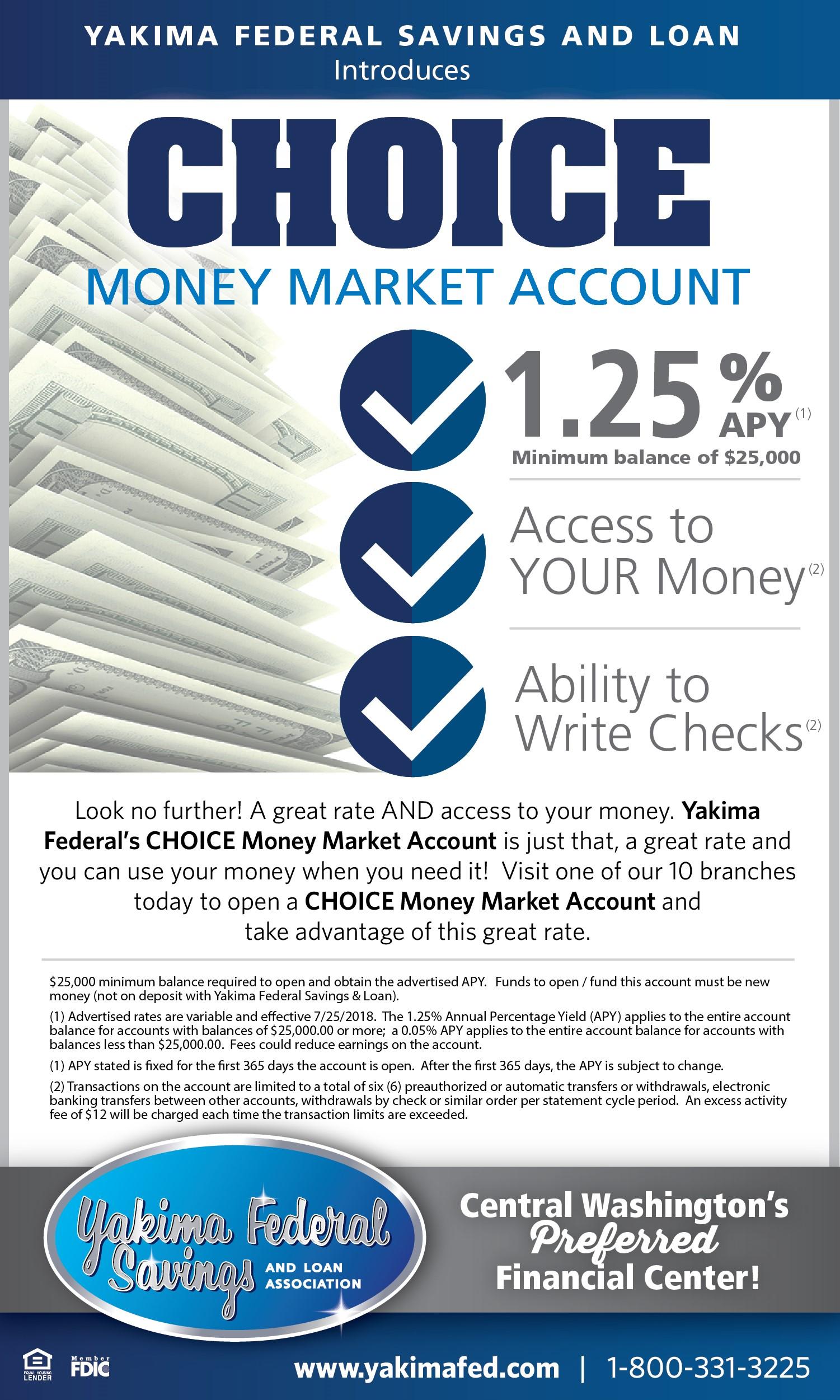CHOICE Money Market Account